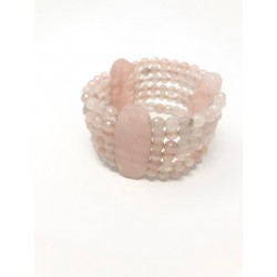 Collana girocollo di perle color crema