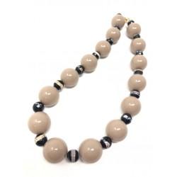 Collana artigianale perle...