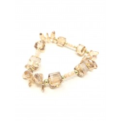 Bracciale luminoso beige in...