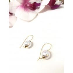 Orecchini perla 12 mm con...