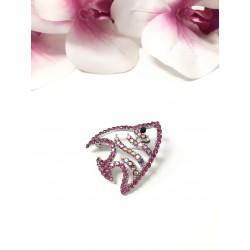 Spilla brooch Pesce rosa...